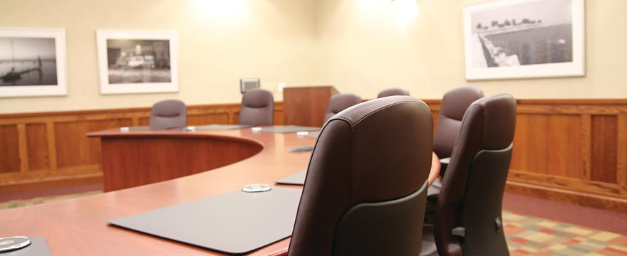 Board room at UW Credit Union.