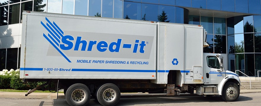Shred-it event at UW Credit Union