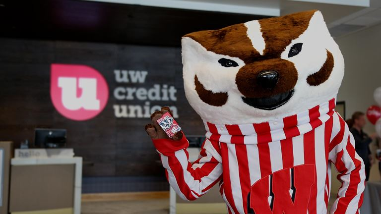 Get your Bucky™ Debit Card with any checking account at UW Credit Union.