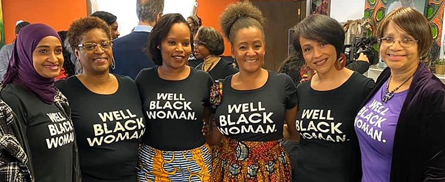 Members of The Foundation for Black Women's Wellness.